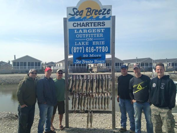 Spring 2015 lake erie fishing reports for Lafayette reservoir fishing report